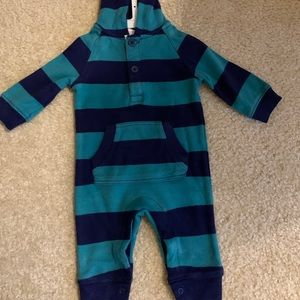 Starting out baby boy hoodie overall 3 months